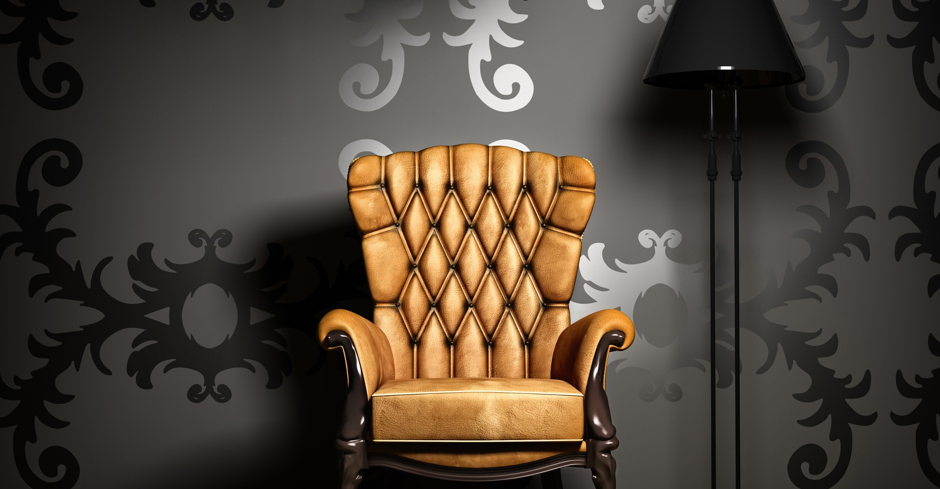 A gorgeous tan chair, upcycled using upholstery in Edinburgh.